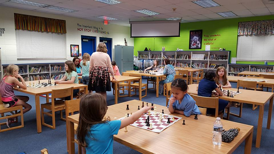 First Girls Chess Night a huge success!